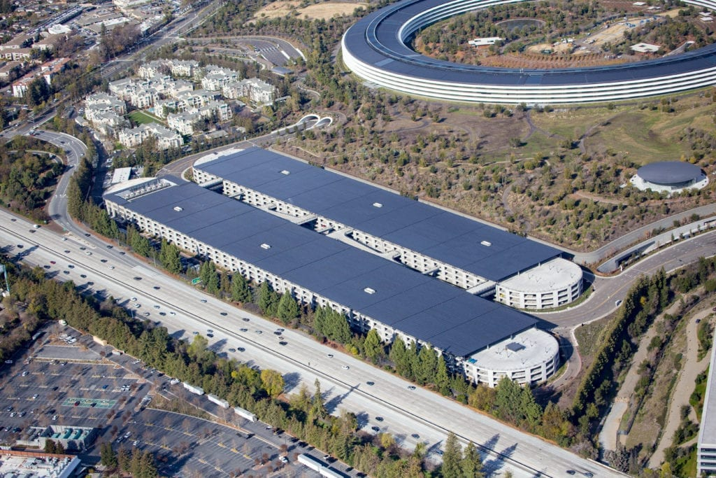 Apple Park Parking Structures