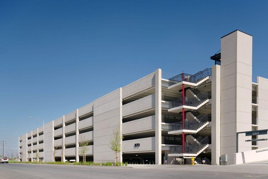 Coleman Highline Parking Structure 2